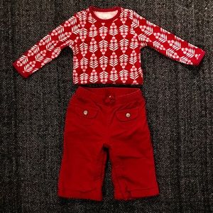 Other - 🎆sale🎆Old navy onesie and gap cords size 6-12